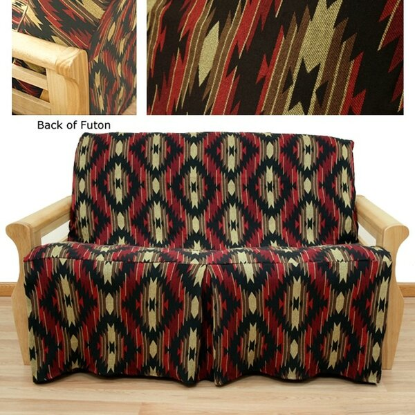 Box Cushion Futon Slipcover By Millwood Pines