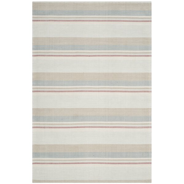 Caja Hand-Woven Gray/Brown/Blue Area Rug by Highland Dunes