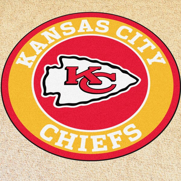 NFL Kansas City Chiefs Roundel Mat by FANMATS