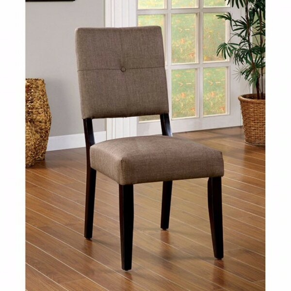 Telly Upholstered Dining Chair (Set of 2) by Red Barrel Studio