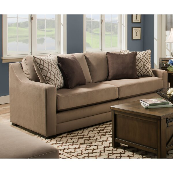 New Collection Tremont Sofa by Simmons Upholstery by Darby Home Co by Darby Home Co