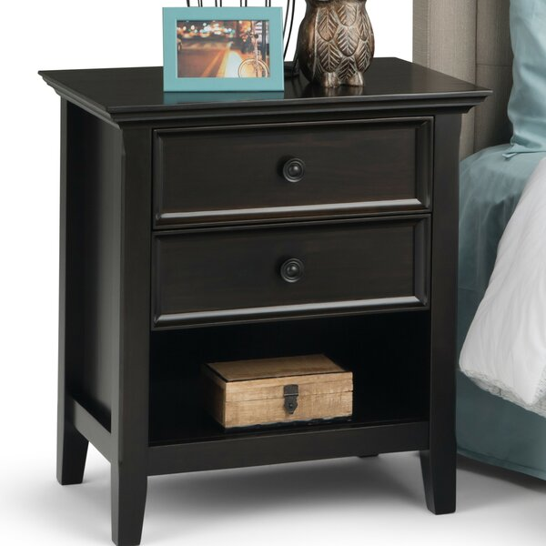 Amherst 2 Drawer Nightstand by Simpli Home