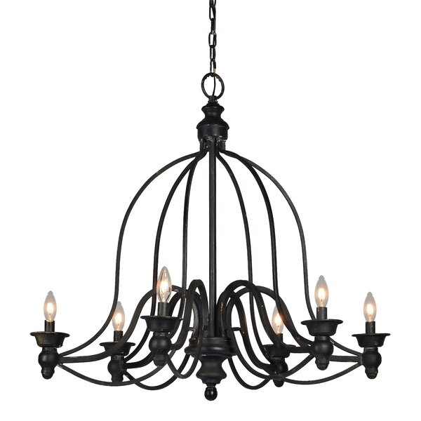 Chattahoochee 6 - Light Candle Style Classic Chandelier By Astoria Grand