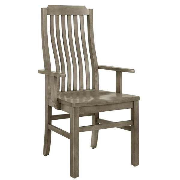 Rader Vertical Solid Wood Dining Chair (Set of 2) by Gracie Oaks Gracie Oaks