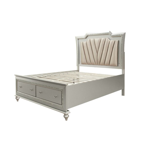 Kaitlyn Low Profile Storage Platform Bed by SunCityElegantLiving