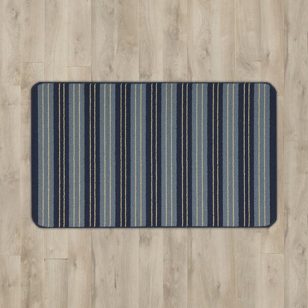 Ravens Navy Area Rug by Andover Mills