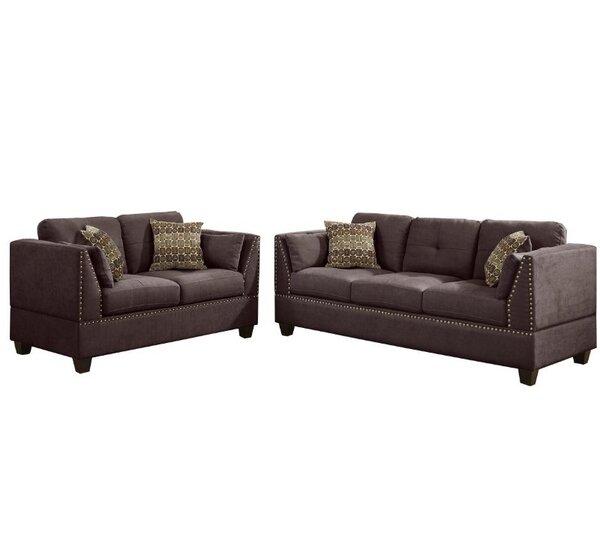 Esmond 2 Piece Living Room Set by Alcott Hill