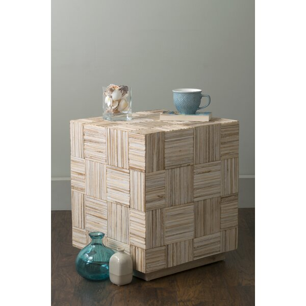 Alexandria End Table by Rosecliff Heights