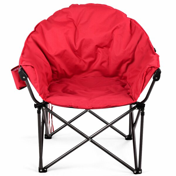 Cheshire Oversized Moon Folding Camping Chair by Freeport Park Freeport Park
