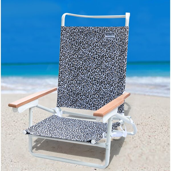 Demers Reclining Beach Chair by Bay Isle Home Bay Isle Home