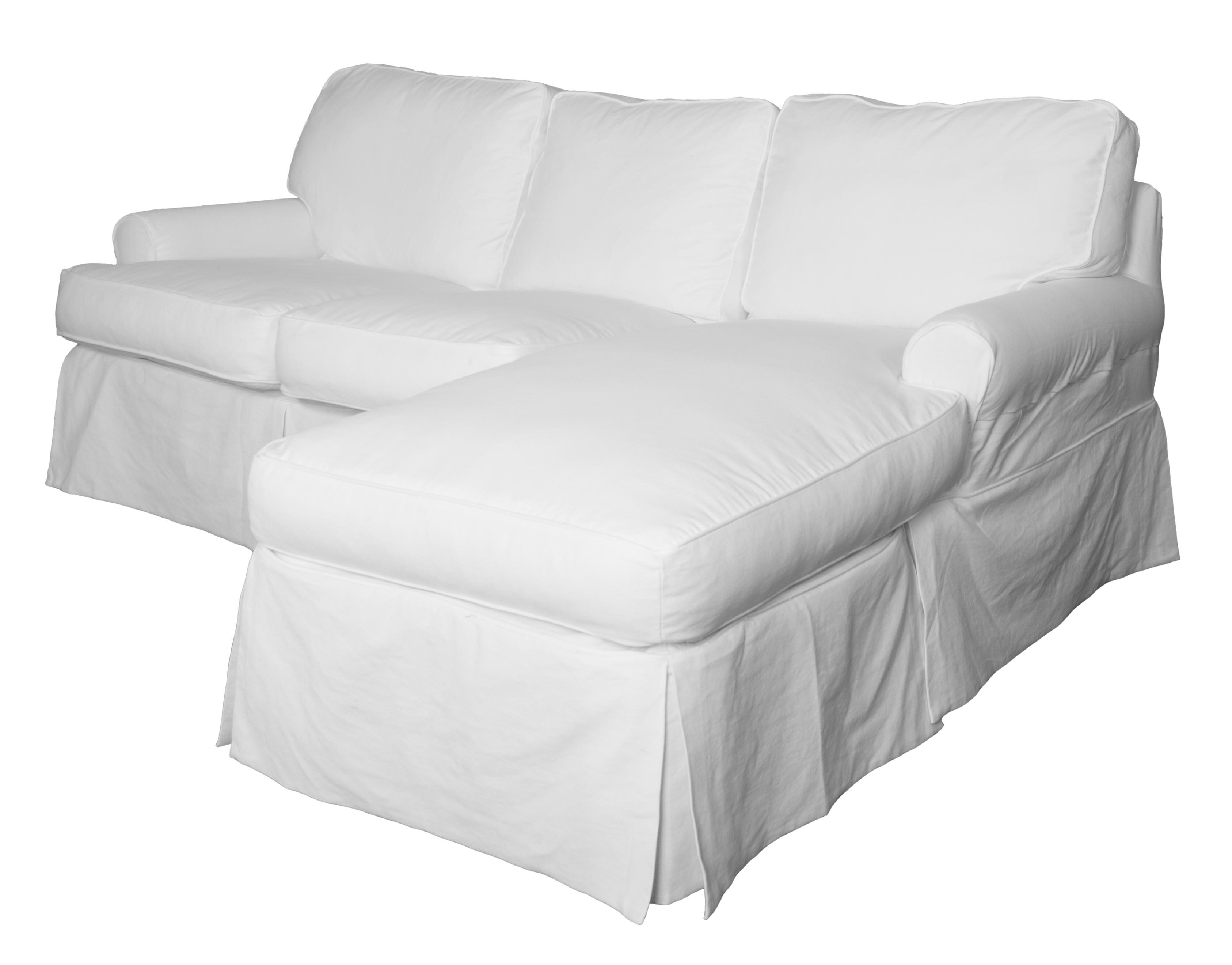 Beachcrest Home Rundle Reversible Sleeper Sectional With