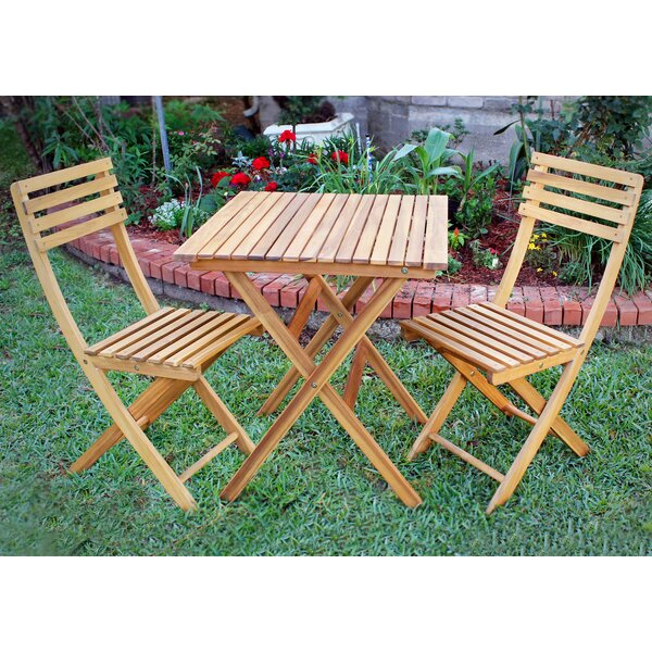 Borica 3 Piece Bistro Set By Loon Peak by Loon Peak Purchase