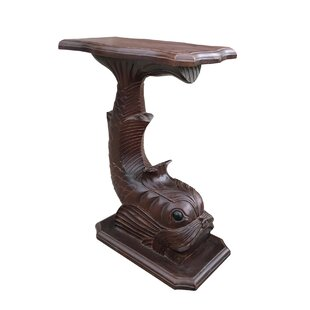 Compare prices Morelli Fish End Table ByBloomsbury Market