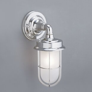 Compare prices Rachel 1-Light Outdoor Sconce By 17 Stories