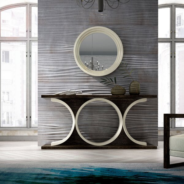 Check Price Ashendon Console Table And Mirror (Set Of 2)
