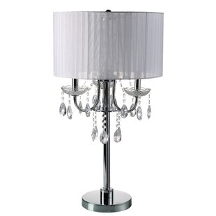 Great Price Euston Crystal 29.5 Table Lamp By House of Hampton