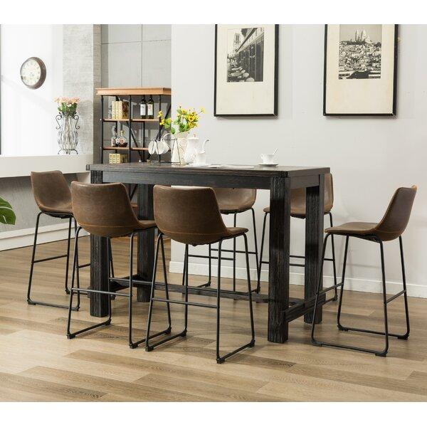 Trent austin design bamey 7 piece pub table set wayfair watchthetrailerfo