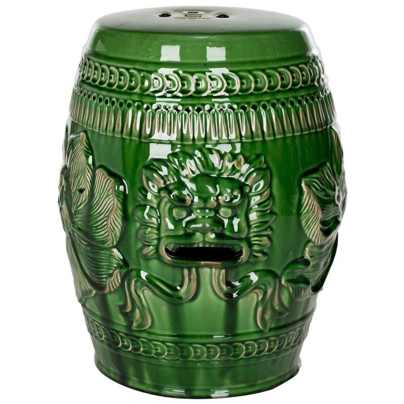 World Menagerie Ellison Ceramic Garden Stool Amp Reviews