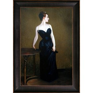 Portrait of Madame X by John Singer Sargent Framed Graphic Art by La Pastiche
