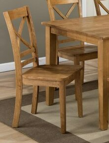 Parham Solid Wood Dining Chair (Set of 2) by Alcott Hill