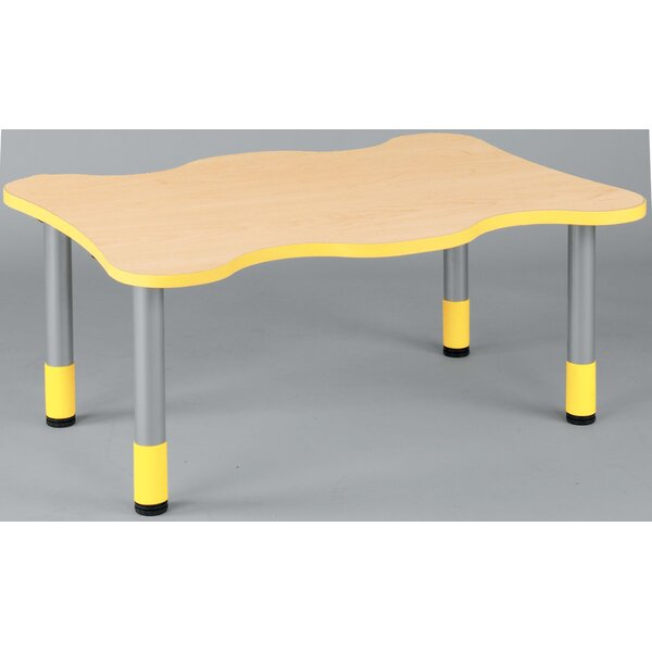 My Place Play Rectangular Activity Table by TotMate