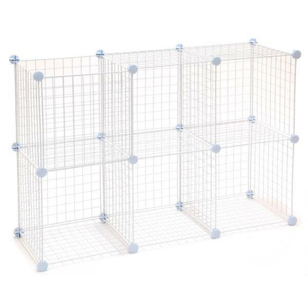 Mini Grid Cube Unit Bookcase By Rebrilliant