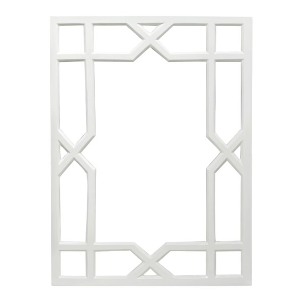 Trellis Accent Mirror by Worlds Away