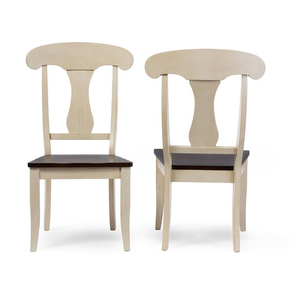 Duncombe Solid Wood Dining Chair (Set of 2) by Breakwater Bay