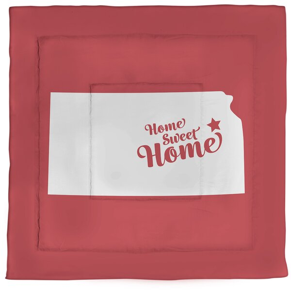 Home Sweet Topeka Single Reversible Comforter