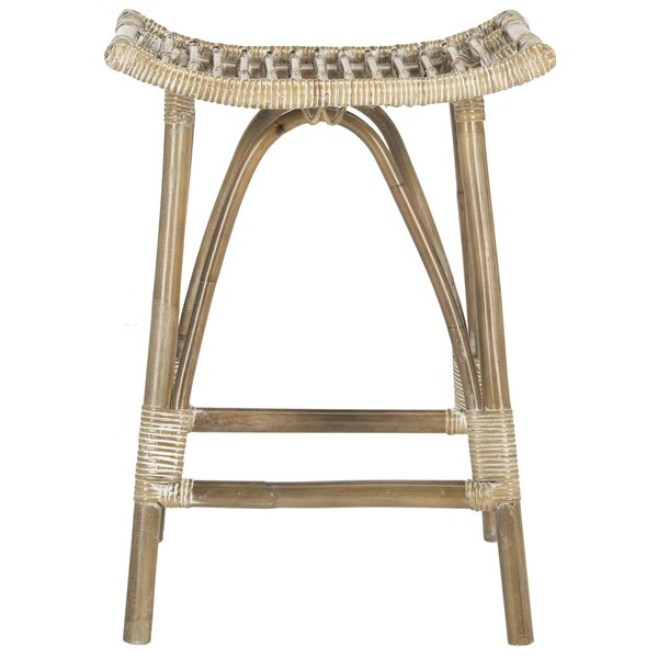 Alexzander 25.2 Bar Stool by Mistana