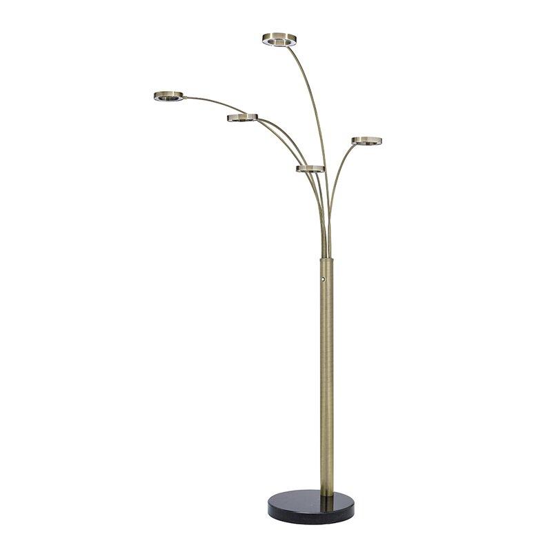"""Brayden Studio Merrimac 78"""" LED Tree Floor Lamp"""