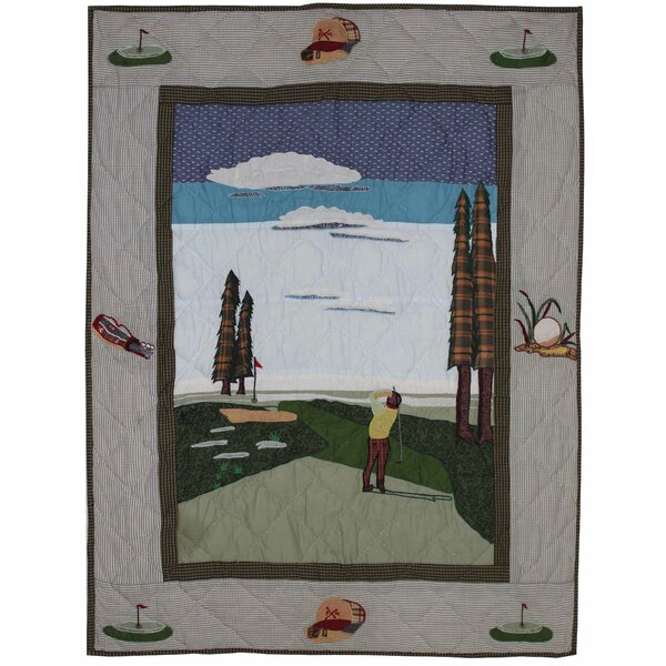 Golf Crib Quilt by Patch Magic