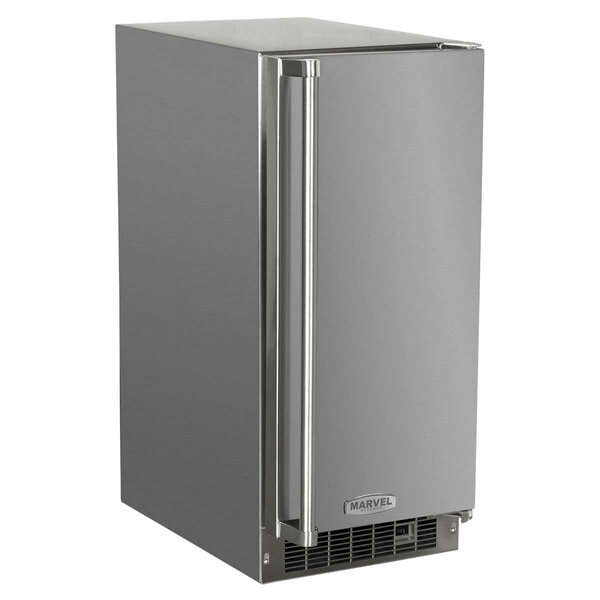 Outdoor 15 34 Ib. Daily Production Built-In Clear Ice Maker by Marvel