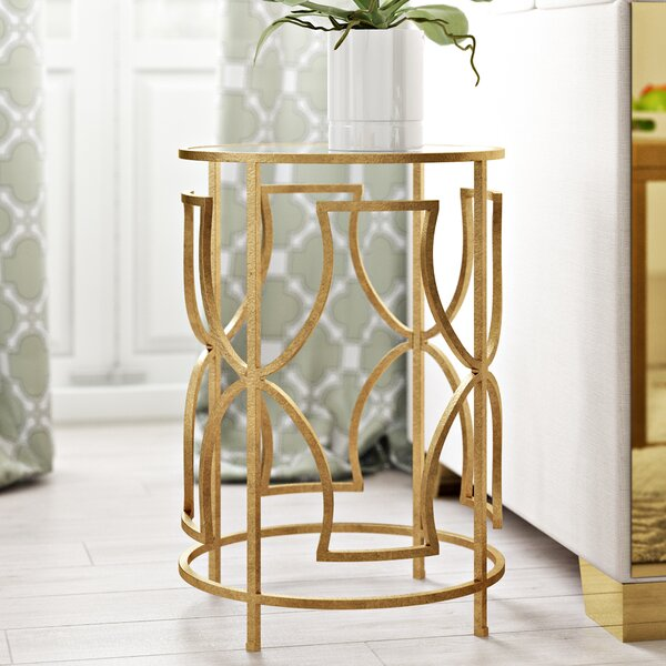 Victorine  End Table by Willa Arlo Interiors