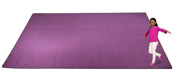 KidTastic Purple Area Rug by Kid Carpet