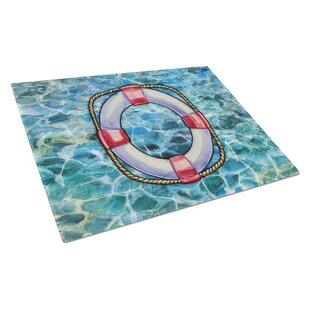 Under Water Glass Life Saver Cutting Board ByCaroline's Treasures