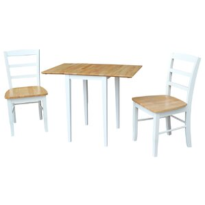 Brewington 3 Piece Dining Set by Andover Mills