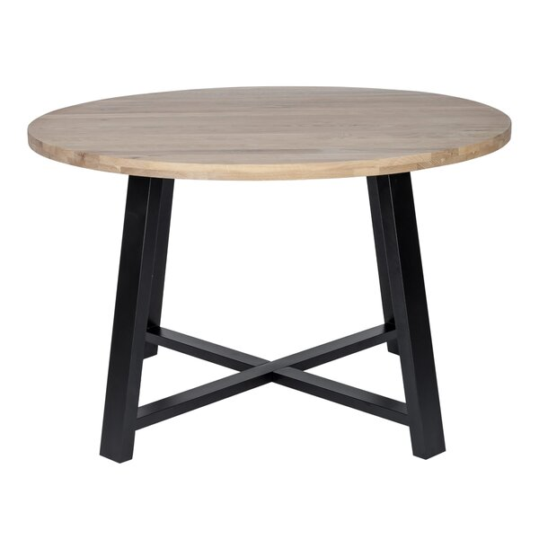 Vecdi Solid Wood Dining Table by Ebern Designs Ebern Designs