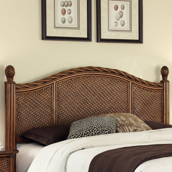 Dessie Panel Headboard by Beachcrest Home