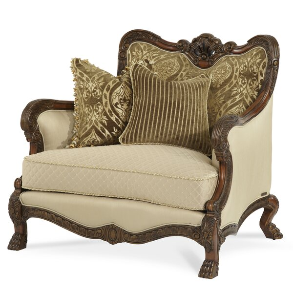 Chateau Beauvais Chair and a Half by Michael Amini