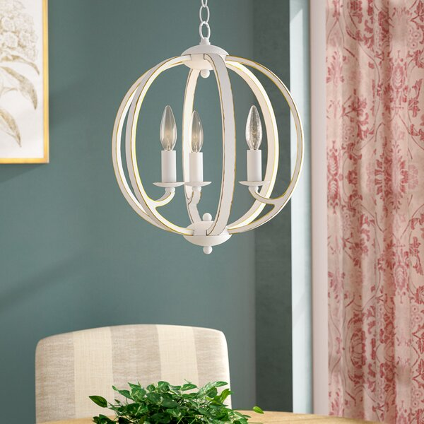Madrid 3-Light Chandelier by Ophelia & Co.