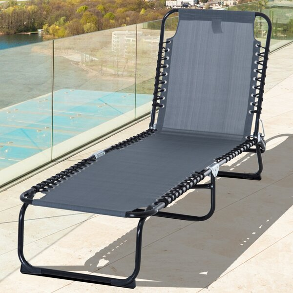 Shaffer Reclining/Folding Beach Chair By Freeport Park