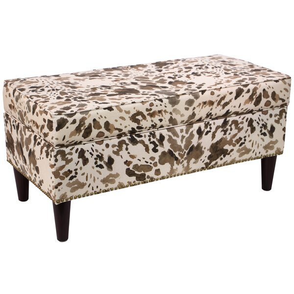 Fennimore Linen Upholstered Storage Bench by Loon Peak