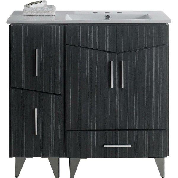 Kapp Floor Mount 36 Single Bathroom Vanity Set by Royal Purple Bath Kitchen