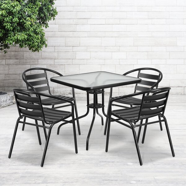 Jahiem 5 Piece Dining Set by Zipcode Design