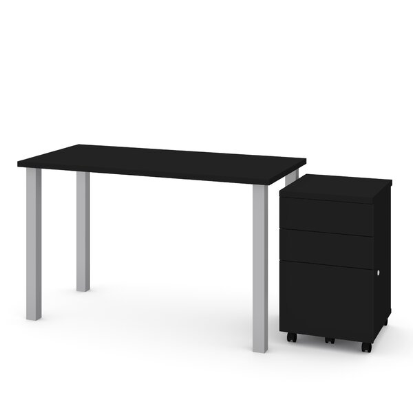 Liberty 2 Piece Desk Office Suite by Symple Stuff
