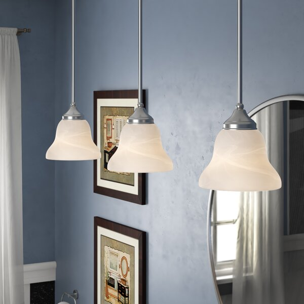 Sparland 1-Light Bell Pendant by Andover Mills