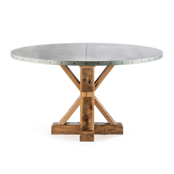 Schulte Solid Wood Dining Table by Gracie Oaks