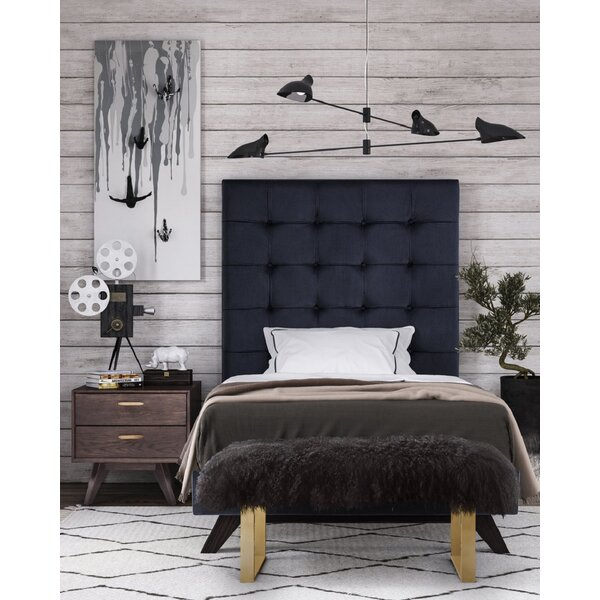 Tammie Upholstered Platform Bed by Everly Quinn