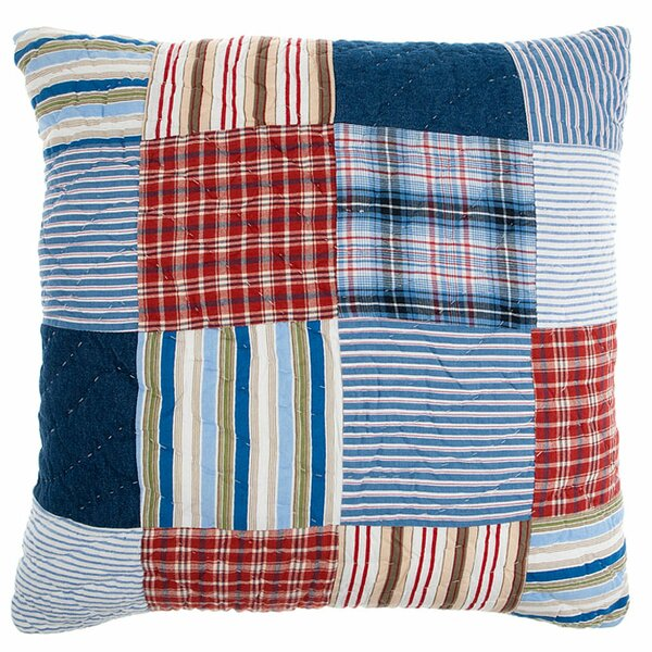 Hampton Cotton Throw Pillow by Amity Home